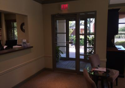 Dr. Gentry's office reception