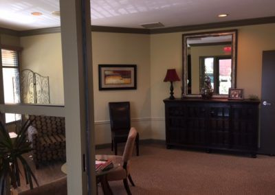 Dr. Gentry's office waiting area